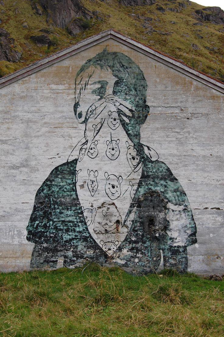 Dolk og/eller Pøbel, detalj Vikvannet Lofoten