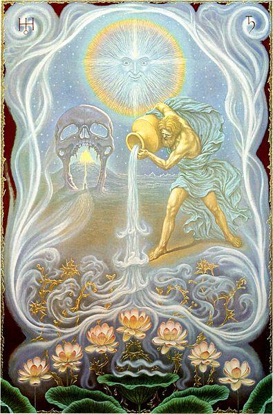 Resultado de imagem para Aquarius - johfra painting
