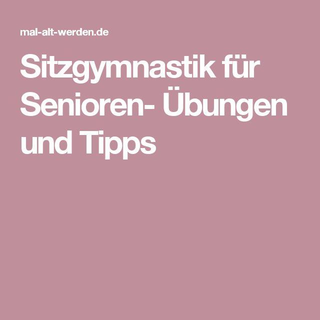 Sitzgymnastik für Senioren- Übungen und Tipps