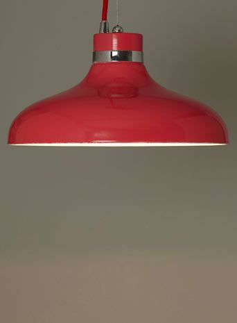BHS hat style red coral pendant
