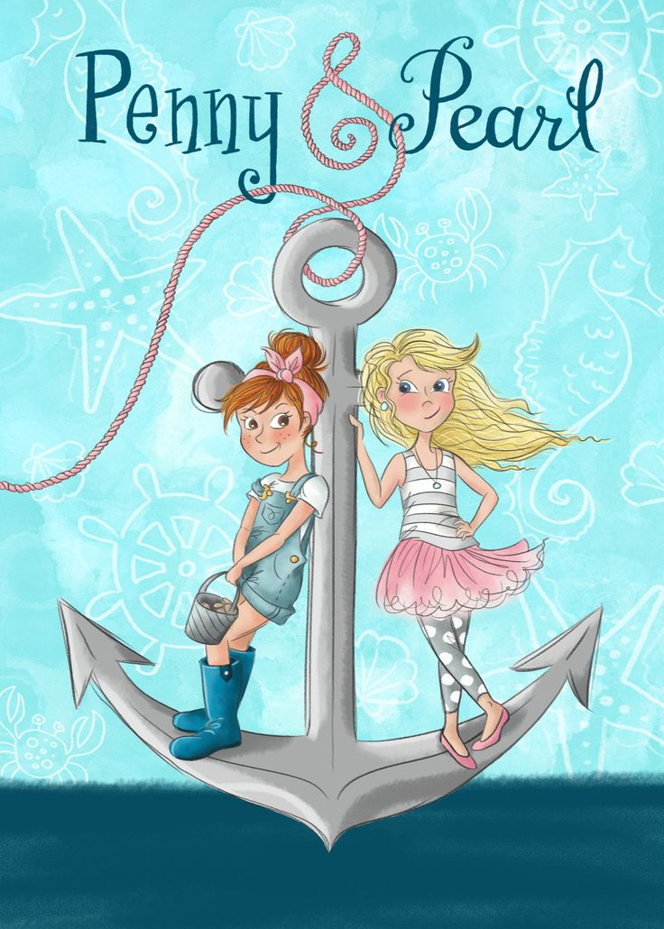 Illustrated Book Cover Ideas : Penny pearl book cover design written and illustrated