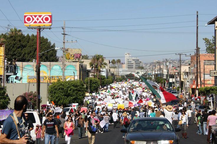 Tijuana se une a Mega Marcha contra EPN - Galerías - SanDiegoRed.Com