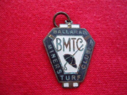 1959-60-BALLARAT-MINERS-TURF-CLUB-RACING-MEMBERSHIP-BADGE-CLOSED-DOWN