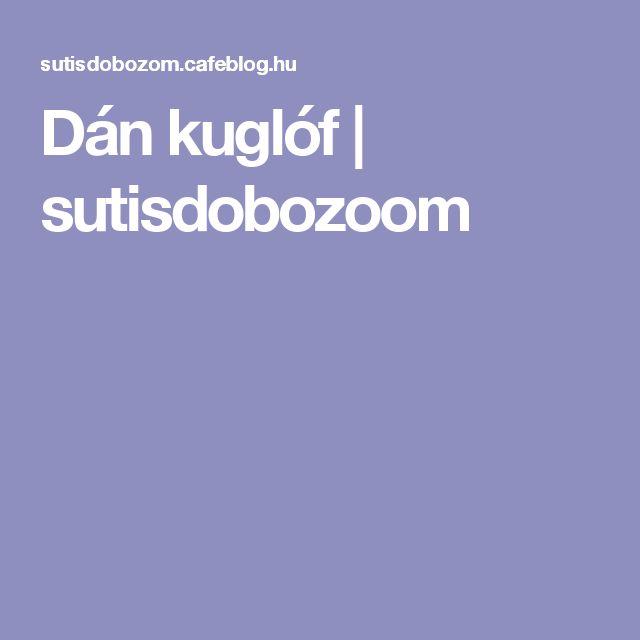 Dán kuglóf | sutisdobozoom