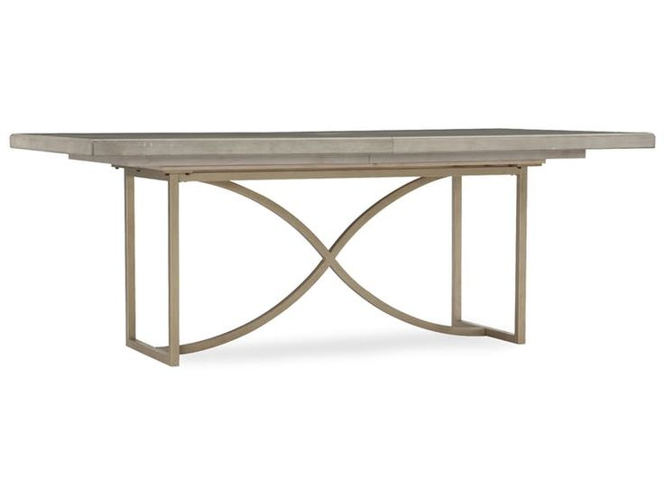 Hooker Furniture Elixir 80in Rectangular Dining Table w/1-20in Leaf 5990-75200-LTWD