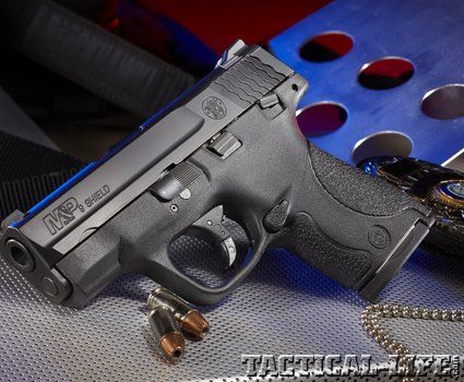 SMITH & WESSON M&P SHIELD 9mm Ultra-reliable backup born for speed with nine rounds at the ready!