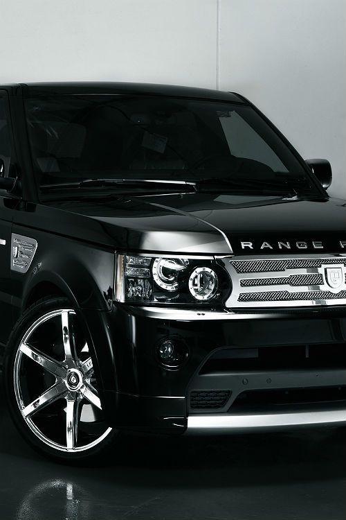 Range Rover Sport, black