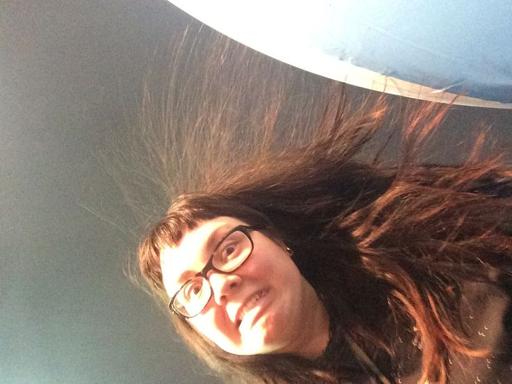 Static electricity is a great reason for a #ScienceSelfie.