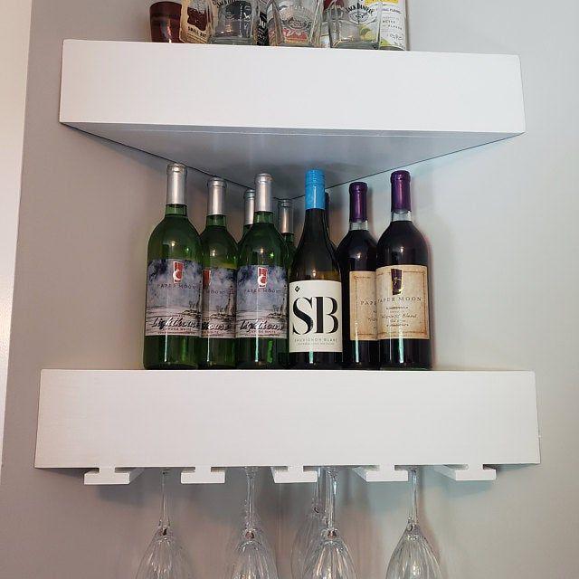 corner floating shelves corner shelf