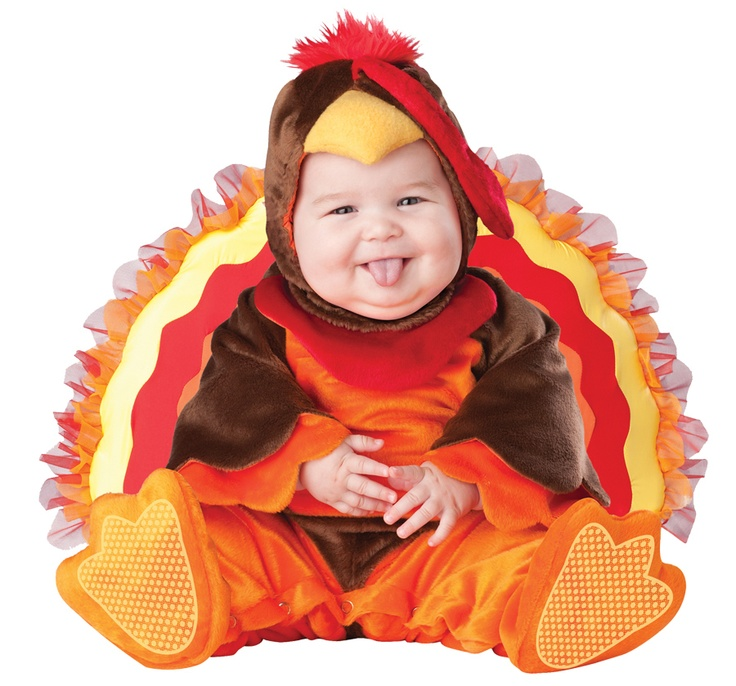 Deluxe Toddler Lil Gobbler Thanksgiving Turkey Halloween Costume 18-24 Month(2T)