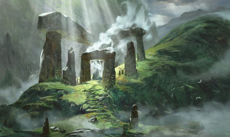 ArtStation - Freelance Set of Environments I completed a little while ago for 'Conquered Self' Project, Nathan Elmer
