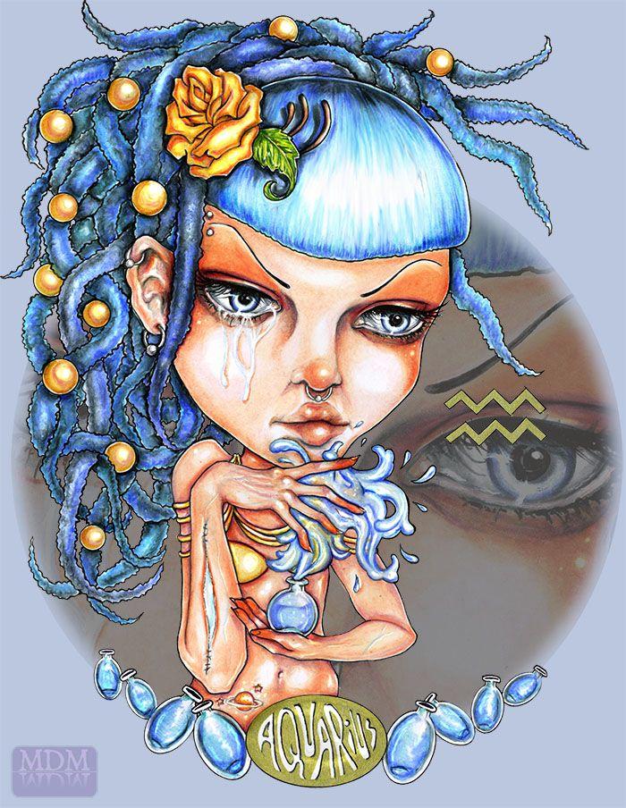 Zodiac: Aquarius by ~WeedFairy on deviantART