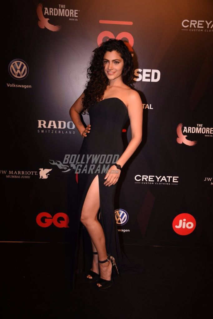 We can't peel our eyes off Saiyami Kher while she is at the GQ Best Dressed Awards, 2017