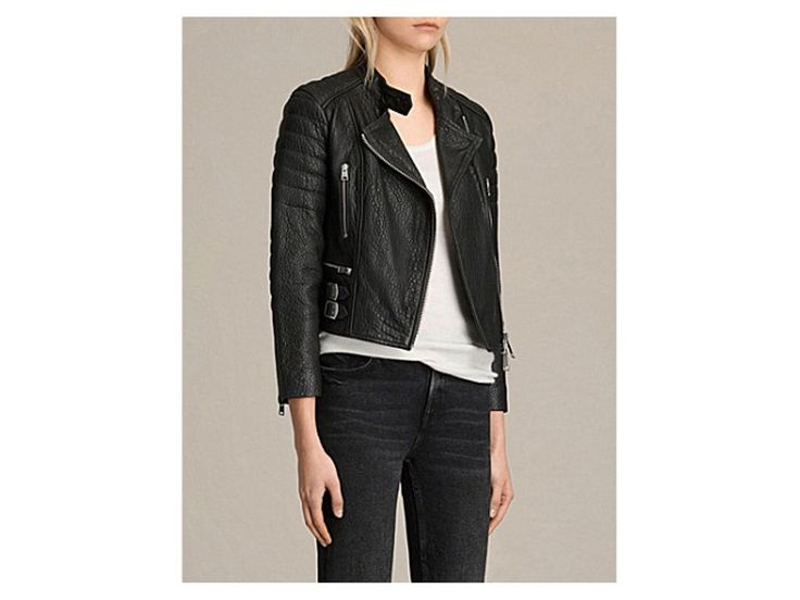 ALLSAINTS Silsden quilted leather jacket