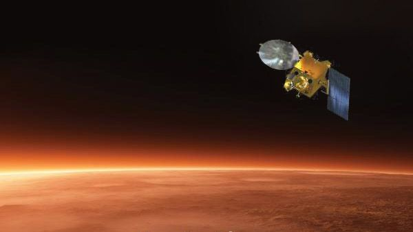 Isro's Mars Orbiter Mission observes superhot argon in the upper atmosphere of the red planet