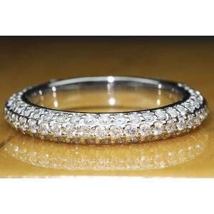 37022622 Micro Pave Wedding Band 1 CTW+