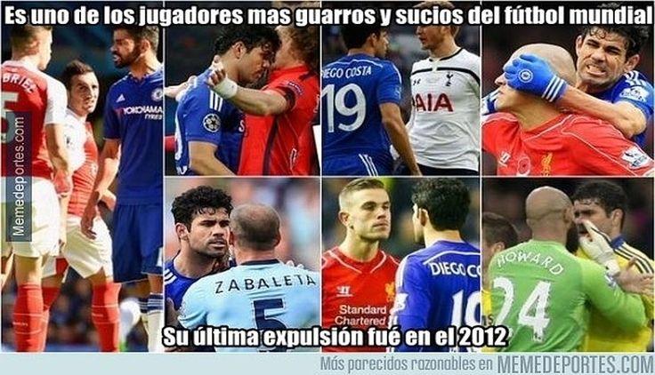 (Article in Spanish) Diego Costa y los mejores memes de la victoria del Chelsea sobre Arsenal