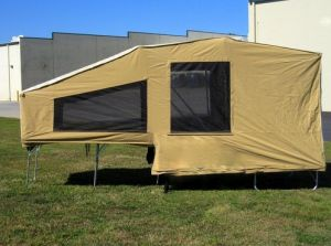 Pull Behind Motorcycle trailer camper The USA Trailer Store