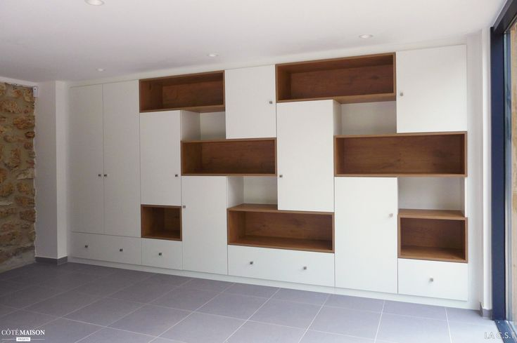 1000 ideas about meuble de rangement on pinterest bibliotheque sur mesure - Bibliotheque modulable ikea ...