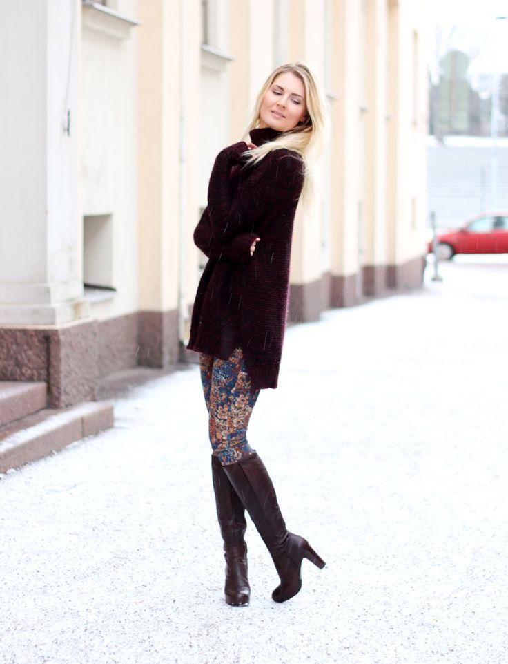 Jumper: Zara / Jeans: Zara / Boots: Billi Bi