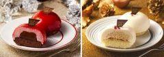 ローソンから一人用サイズのクリスマスケーキ赤いクリスマスケーキと白いクリスマスケーキが発売中 フランス産チョコレートを使用し赤いクリスマスケーキはベリームースチョコレートガナッシュ白いクリスマスケーキはホワイトチョコレートプラリネクリームを使ったケーキになっています 今年はクリスマスが三連休だから家族の予定がばらばらになってもこれなら食べやすいですね