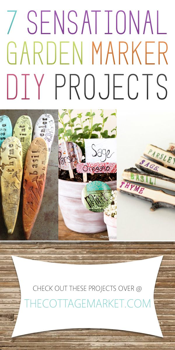 Garden Marker Diy Projects Today 39 S Craft And Diy Ideas