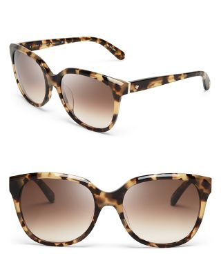 kate spade new york Bayleigh Oversized Sunglasses