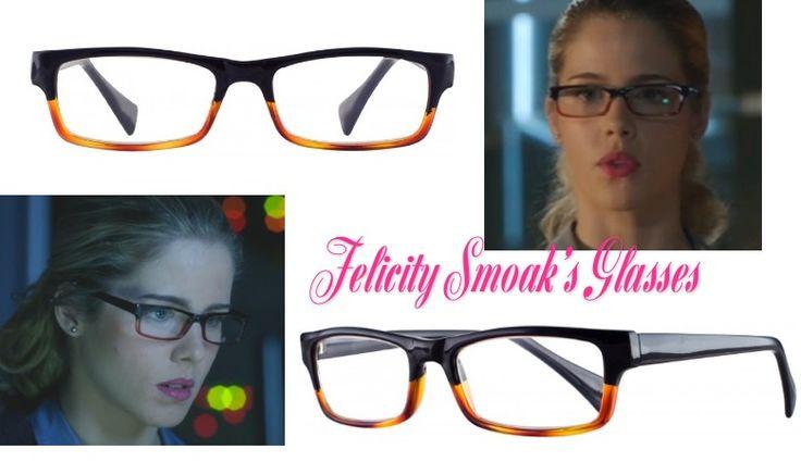 "Arrow: Felicity Smoak's (Emily Bett Rickards) exact black/brown ""Soho"" glasses from Reader Store Online #arrow #getthelook"