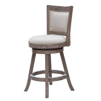boraam melrose counter stool driftwood gray wirebrush and ivory - Wayfair Counter Stools