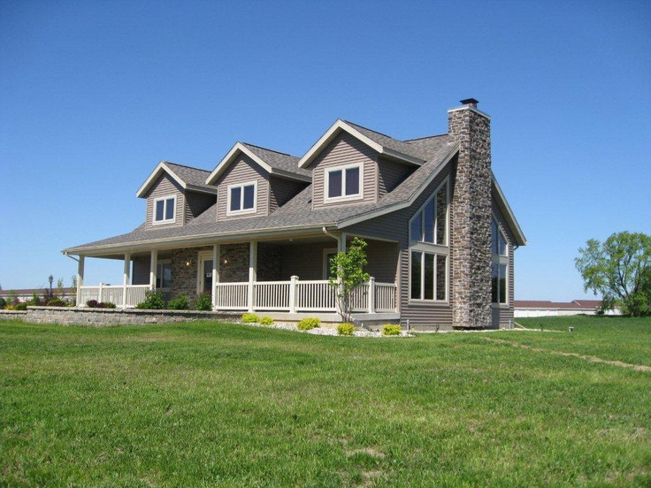 205 best images about log home on pinterest more for House plans with dormers and front porch