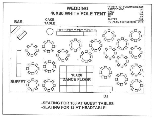 image result for wedding reception layouts 140 people 40. Black Bedroom Furniture Sets. Home Design Ideas