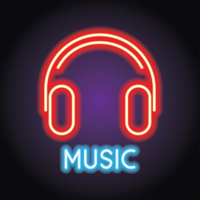 Music And Live Music Logo With Neon Effect Vector Illustration Dj Clipart Music Musical Png And Vector With Transparent Background For Free Download Music Logo Neon Neon Wallpaper