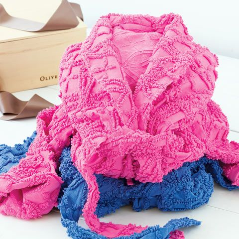 7 best Chenille images on Pinterest | Dressing gown, Robes and Tunics