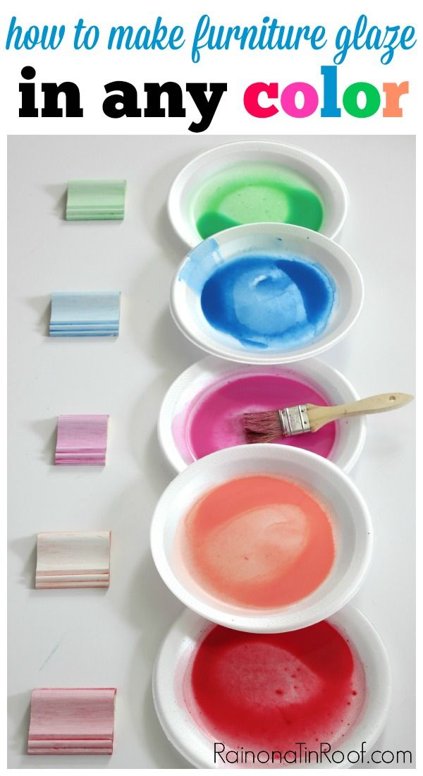 how to make colored wax for furniture