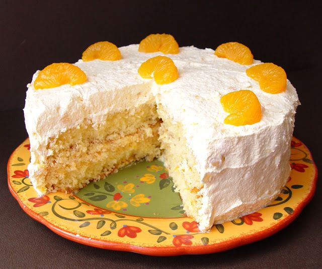 Mandarin Orange Cake I Recipe Dishmaps