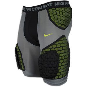 Nike Pro Combat Hyperstrong Football Short - Men's - Football - Clothing - Black/Black/Grey