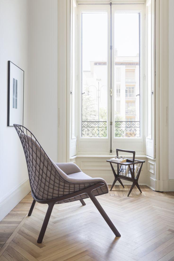 gran kobi armchair with Kvadrat fabric. Design by Patrick Norguet  #aliasathome #aliasmood #aliasatwork #interiordesign
