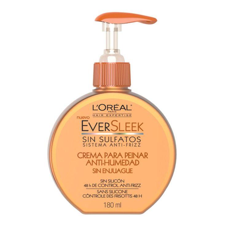 Crema para peinar - Ever Sleek L'oreal - Baja Porosidad