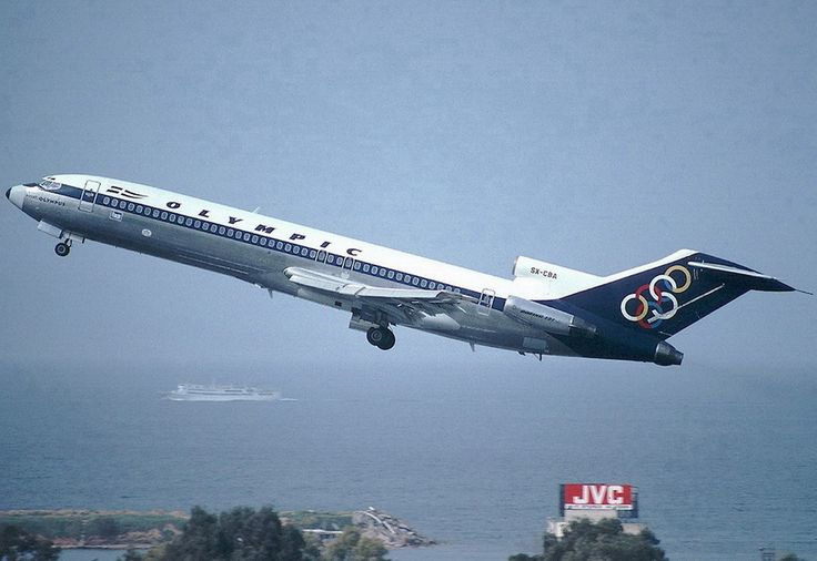 Olympic Airways B 727-284 (Mount Olympus)  [SX-CBA]