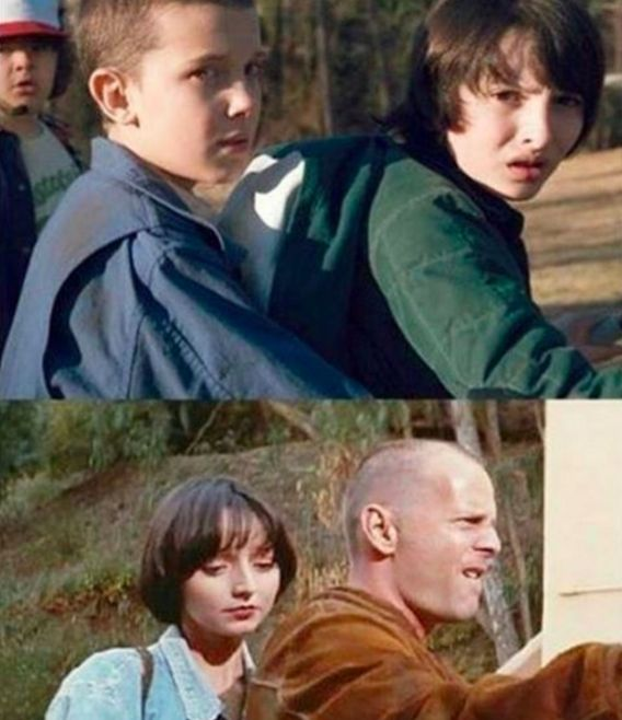 "This comparison to Butch Coolidge and Fabienne from Pulp Fiction. | 31 Jokes Only ""Stranger Things"" Fans Will Find Funny"