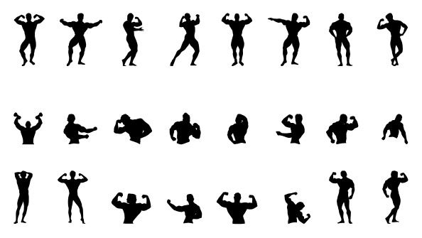 Ernesto Fitness Fitness Photoshop Resources Silhouette