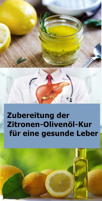 Zubereitung der Zitronen-Olivenöl-Kur für eine gesunde Leber | njuskam!