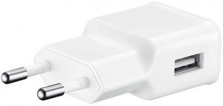 Сетевое зарядное устройство Samsung EP-TA20EWEUGRU microUSB 2А белый  — 1440 руб. —  Бренд: Samsung, Тип: Сетевое зарядное устройство, Разъемы подключения: microUSB, Сила тока: 2А, Особенности: дополнительный кабель microUSB