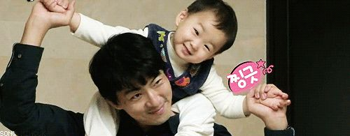 Minguk and appa's photo time | The Return of Superman