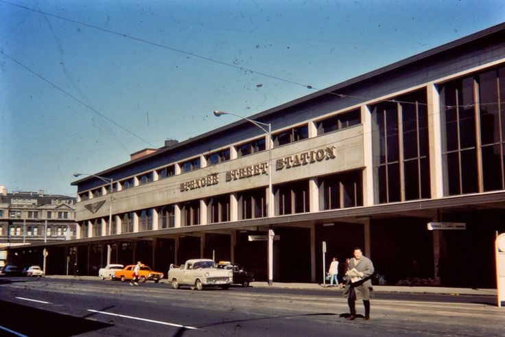 """Spencer Street Station"" Melbourne Victoria Australia"