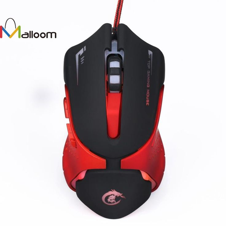 Malloom 2017 Gaming Mouse 6D LED Optical USB Wired 3200 DPI Pro Gaming Mouse For Laptop PC Game High Quality For PC Computer //Price: $11.62 & FREE Shipping //  #gamergirl #gaming #video #videogame #gamingmouse