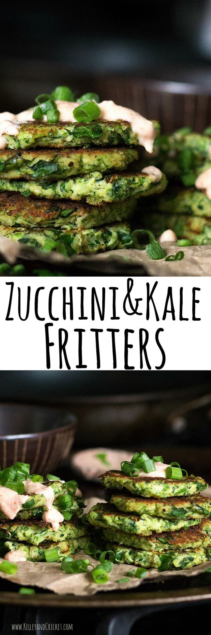 These tasty little fritters are packed full of nutrients and make the perfect healthy snack or meal! They are easy-peasy to make and only require a few simple ingredients. They also happen to be grain-free,  gluten-free, and paleo!