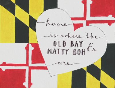 check it out, when Practice becomes an object that you can sell to anyone who could be interested. :) Old Bay & Natty Boh Art Print, society6.com $16.48