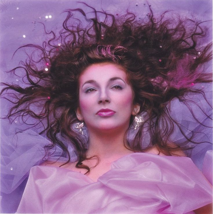 1985 Kate Bush Hounds of Love album cover outtake by John Carder Bush
