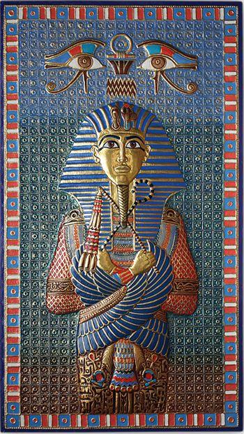 Фараон Тутанхамон - стоимость: 350000 руб., Виктор Морозов